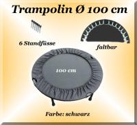 TRAMPOLÍN 102cm plegable hasta 100kg Sprungkraft/fuerza de salto