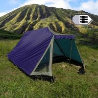 3 Personen Zelt mit Vorzelt Stauraum